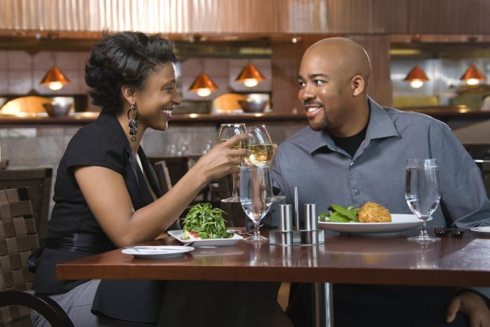 African American dining out